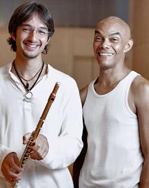 François Minaux et Pedro Rosa