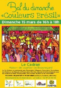 Affiche Bal du Dimanche - 15 mars