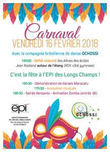 Carnaval EPI Cie Ochossi
